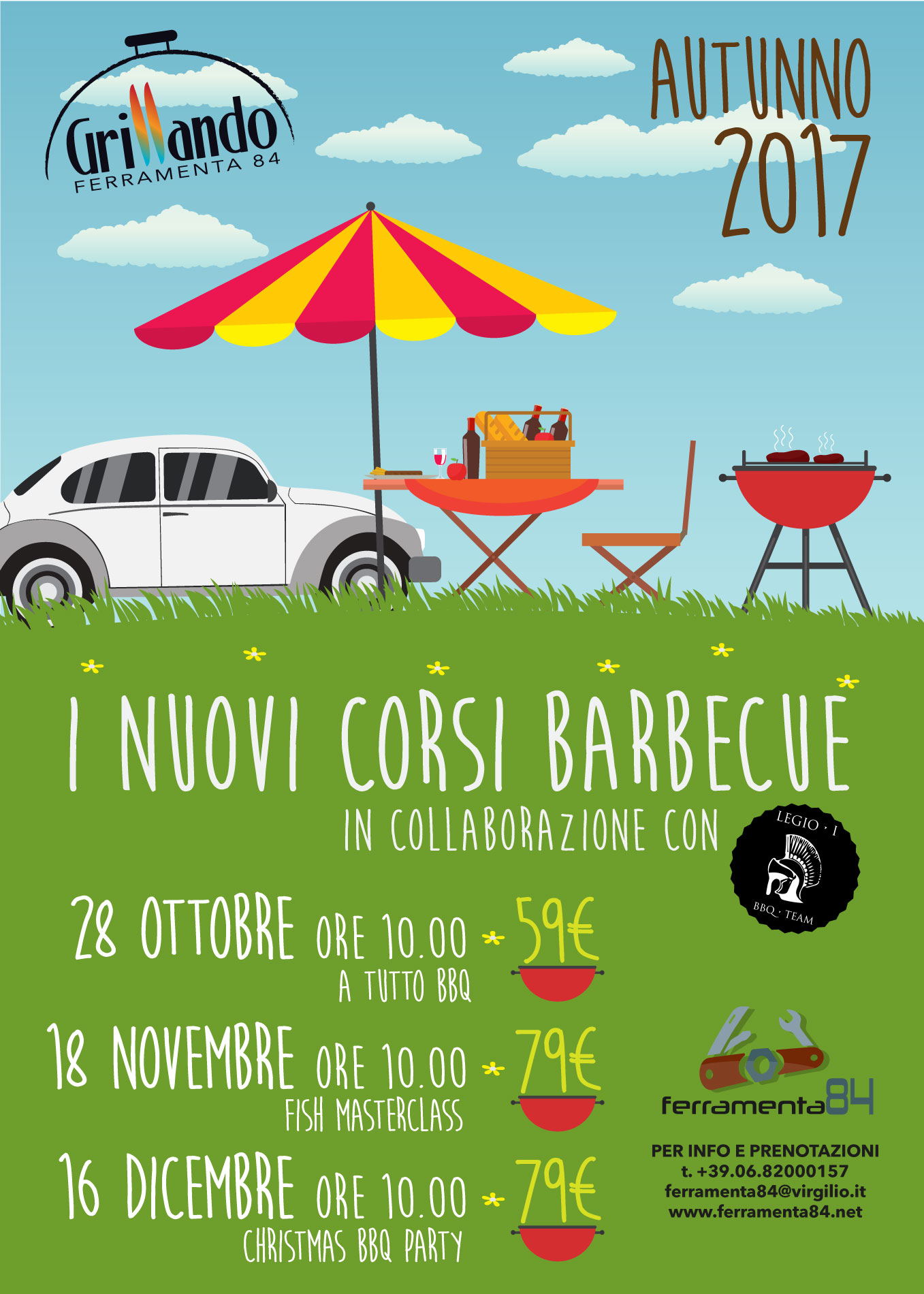 Corso Legio I BBQ Team * Christmas BBQ Party
